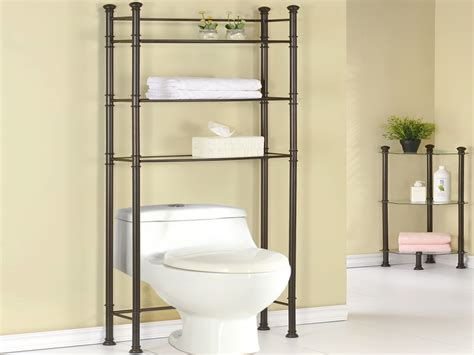 Over the toilet storage units, bathroom space saver over