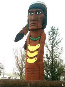 osceola ia seminole chief osceola statue