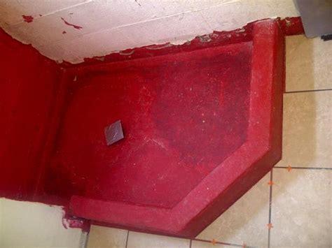 shower pan  basement floor ceramic tile advice forums