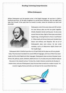 shakespeare biography essay