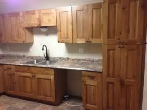 rustic kitchen furniture rustic knotty oak
