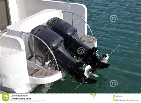 Z Boat Engine by Speed Boat Engines Stock Image Image Of Ship Propeller