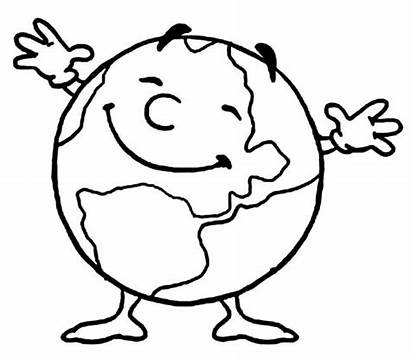 Coloring Pages Earth Preschool Printable Worksheets Crafts
