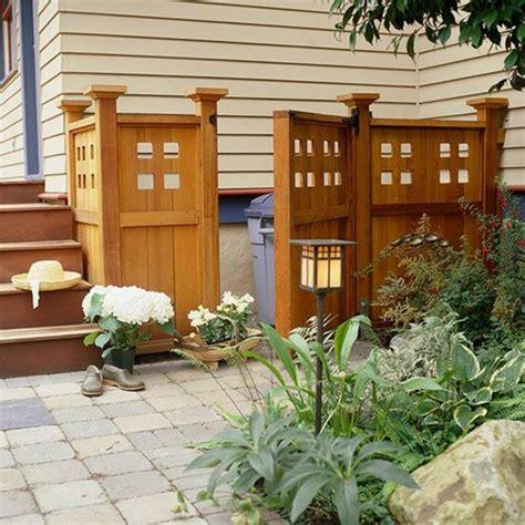 Mülltonnenbox Im Garten  So Machen Sie Die Abfalltonnen