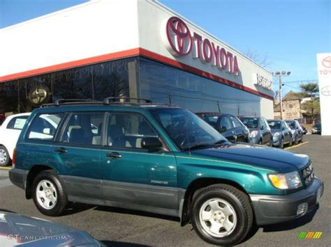 red subaru forester 2000 2000 arcadia green subaru forester 2 5 l 3172421