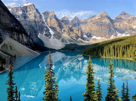 Moraine Lake Banff Alberta Earthporn