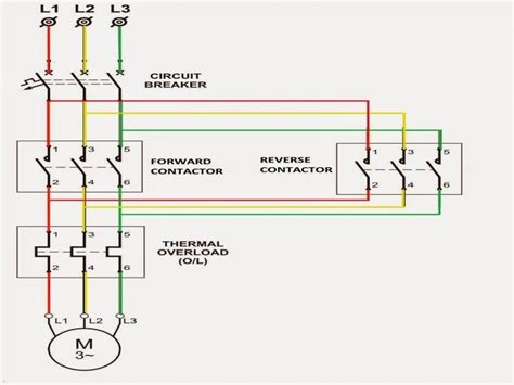 Reversing Motor Starter Wiring Diagram Forums