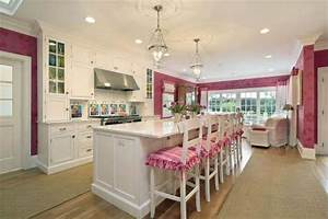 hundi lantern contemporary kitchen megan winters With kitchen colors with white cabinets with pink wall art decor