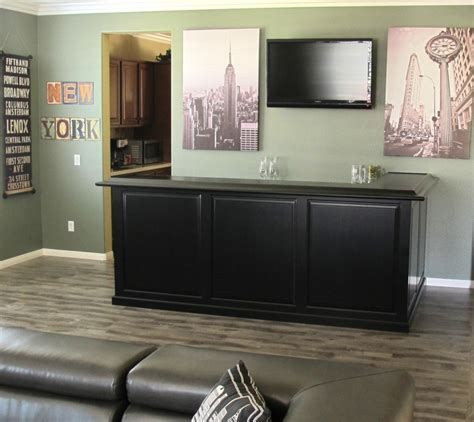 Affordable Home Bar by Get A Custom Home Bar And Built In Wine Storage Cabinet
