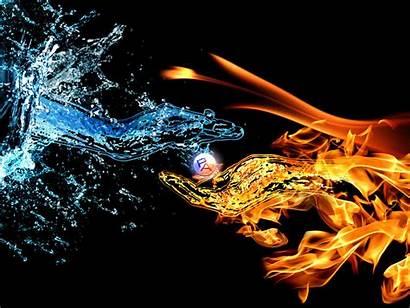 Fire Water Wallpapers Cool Deviantart