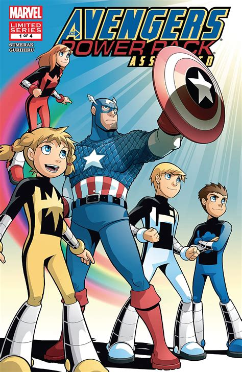 Avengers And Power Pack Assemble Vol 1 Marvel Database