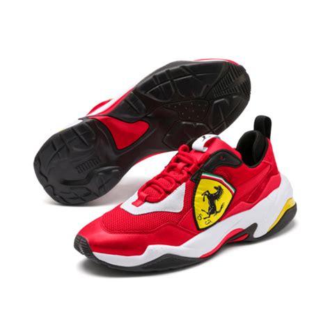 Una vita dedicata al benessere fisico. Puma Ferrari Thunder Trainers | 339869_02 | Sneakerjagers
