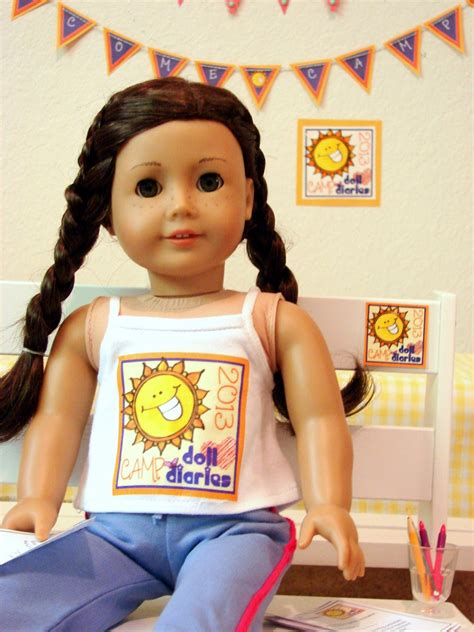 american girl doll play camp doll diaries
