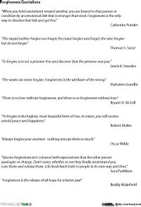 Forgiveness Quotations Worksheet  Middle School  Pinterest  Forgiveness, Worksheets And
