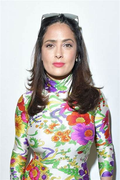 Salma Hayek Paris Balenciaga Week Pfw Celebzz