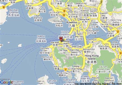 map  mandarin oriental hong kong hong kong