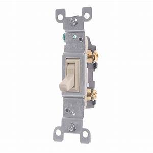 Light Switch Single Pole 120v 15amp