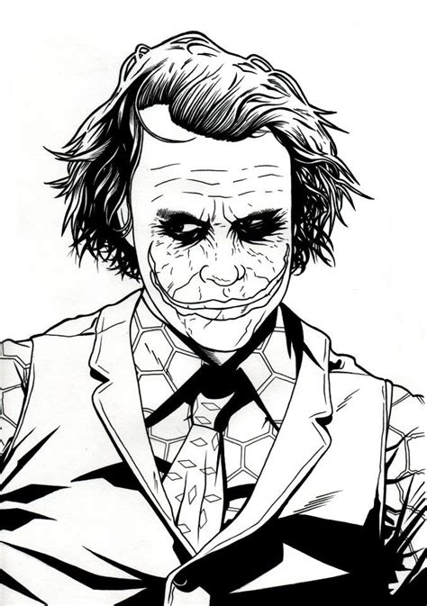 theunlawyer joker face outline