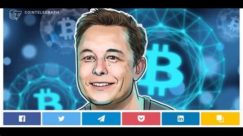 — elon musk (@elonmusk) april 15, 2021. Elon Musk: Bitcoin Has 'Quite Brilliant' Structure, Paper Money is Going Away. - YouTube