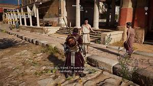 Assassin's Creed Origins Wrath of the Poets Side Quest ...