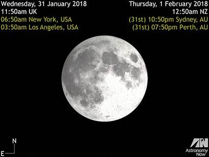 Moon Eclipse January Lunar Total 31 Eclipsed