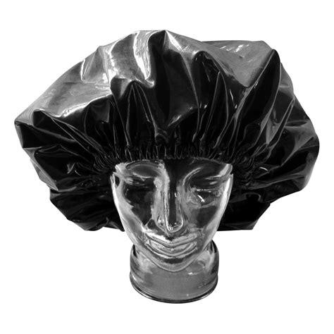 Shoo Shower Cap - dreadlock shower cap black laminated cotton shop