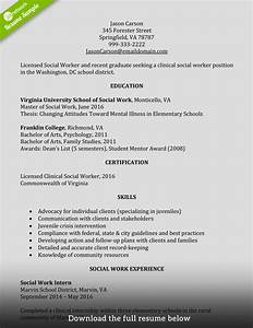 How to Write a Perfect Social Worker Resume Examples