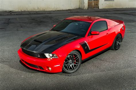 This 2012 Race Red Roush Ford Mustang Is A Real Corvette