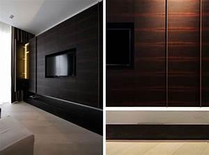 Tv Wandpaneel Holz : 33 moderne tv wandpaneel designs und modelle pinterest tv wandpaneel dunkles holz und ~ Markanthonyermac.com Haus und Dekorationen