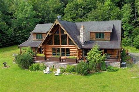 log cabins  sale  ny  home plans design