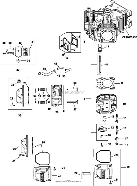 27 Hp Kohler Engine Diagram by Kohler Cv25 69500 Basic 25 Hp 18 61 Kw Parts Diagram For