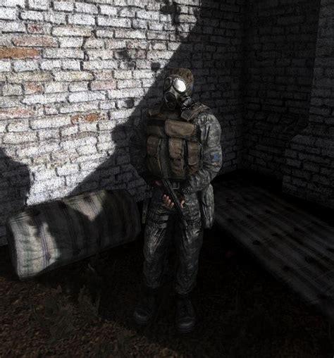 mercenaries acu skin stalker clear sky skin mods