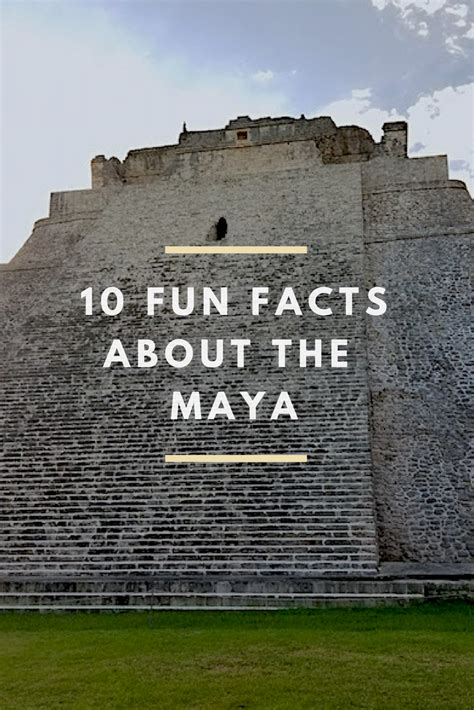 10 Fun Facts About The Maya Multicultural Kid Blogs