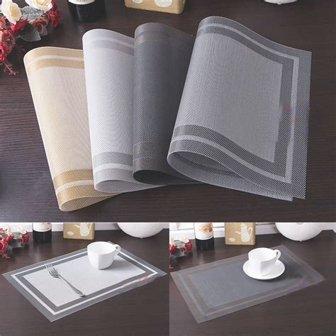 Sales Pvc Insulation Bowl Placemats Kitchen Dining Room