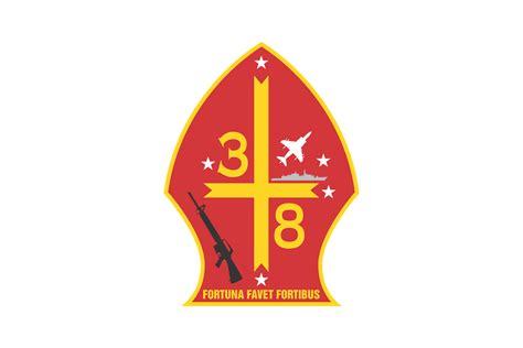 3rd Battalion 8th Marine Regiment USMC Logo