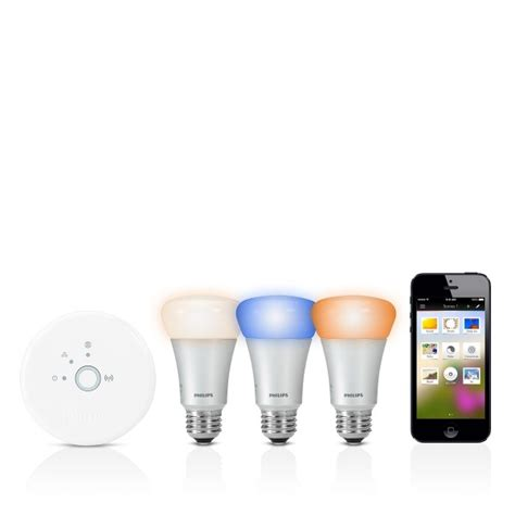 philips hue connected bulb starter pack siri compatible