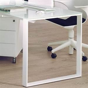 Design Schreibtisch Weiß : schreibtisch weiss mit glasplatte ~ Heinz-duthel.com Haus und Dekorationen