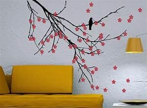 Schablonen Zum Streichen : w nde streichen ideen f r das wohnzimmer ~ Orissabook.com Haus und Dekorationen