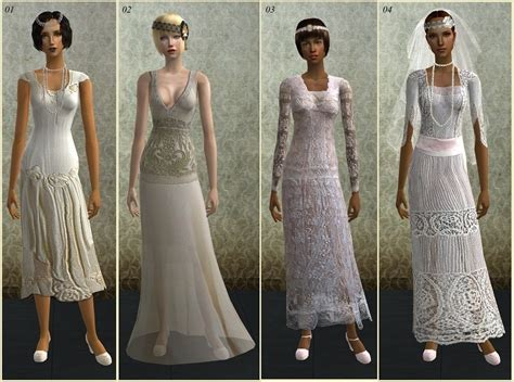 Mod The Sims   *Brides of the 1920s*