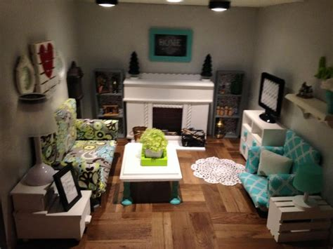American Doll Living Room Plans by Best 25 American Dollhouse Ideas On