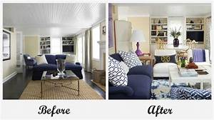 Room Makeovers each featuring a very different before and