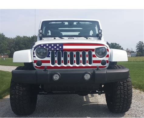 jeep cherokee american flag jeep wrangler grill skin grill wrap check out our