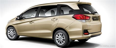 Honda Mobilio Picture by Honda Mobilio Rear View Car Pictures Images