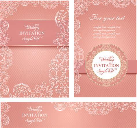 wedding invitation card templates  vector  adobe