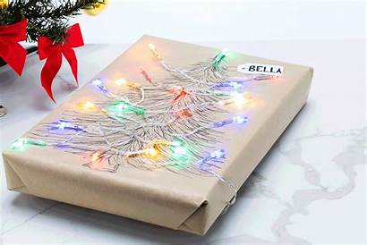 Paper Diy Wrapping Holiday Christmas
