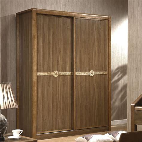 residential furniture minimalist wood sliding door