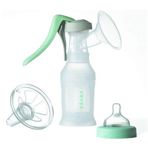Beaba Biboz Manual Hand Held Breast Milk Pump Portable