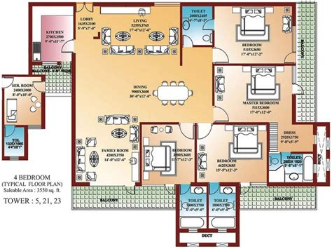 four bedroom house plans one unique 4 bedroom home blueprints small 4 bedroom house