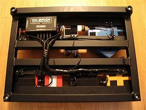 Pedalboard Power Supply Mounting Brackets