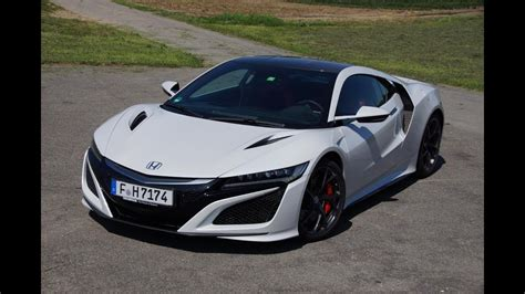 honda nsx  im test autoscout youtube
